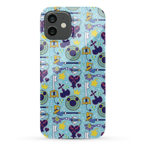 Kingdom Hearts pattern Phone Case