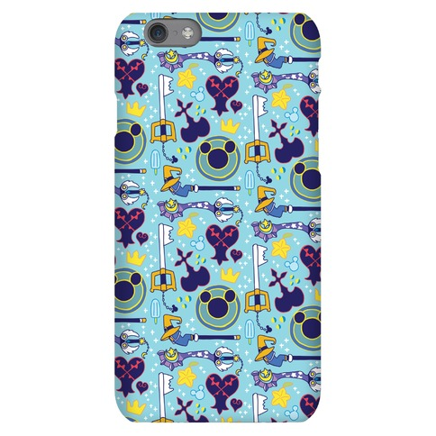 Kingdom Hearts pattern Phone Case