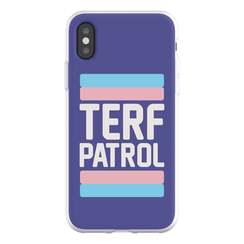 Terf Patrol Phone Flexi-Case