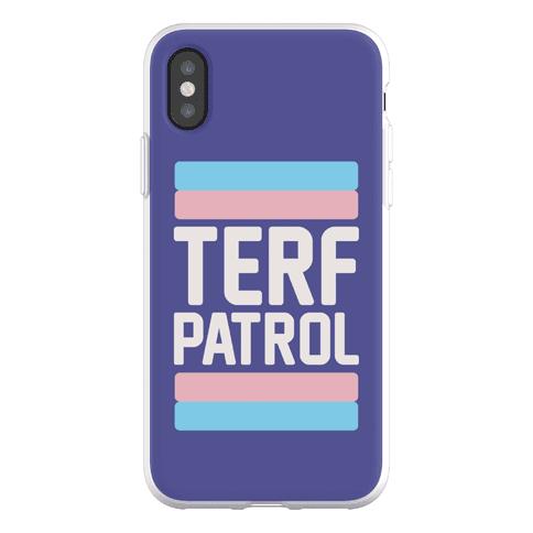 Terf Patrol Phone Flexi-Case