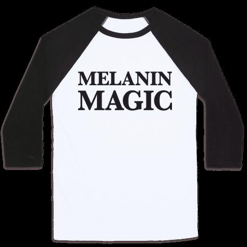 Melanin Magic Baseball Tee