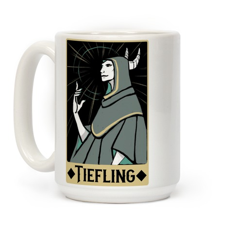 Tiefling - Dungeons and Dragons Coffee Mug