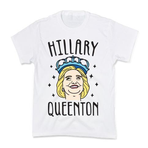 Hillary Queenton Kids T-Shirt