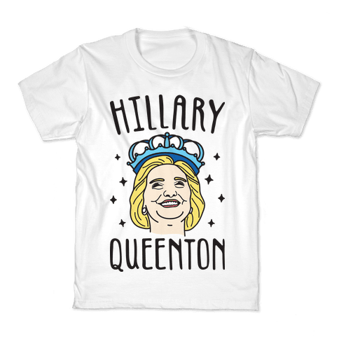 Hillary Queenton Kids T-Shirt