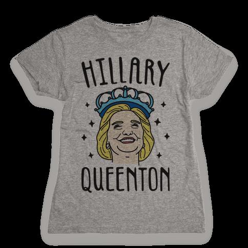 Hillary Queenton Womens T-Shirt