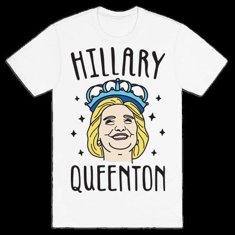 Hillary Queenton Mens T-Shirt