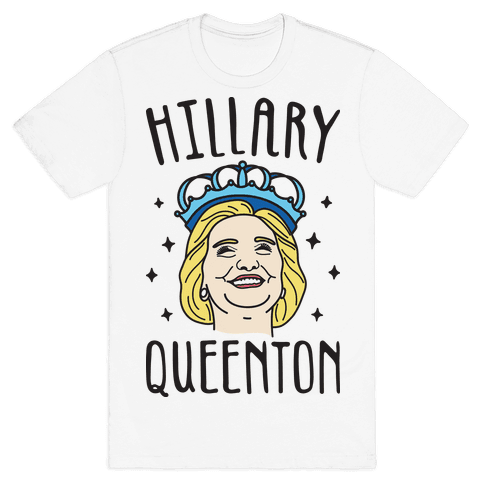 Hillary Queenton Mens T-Shirt