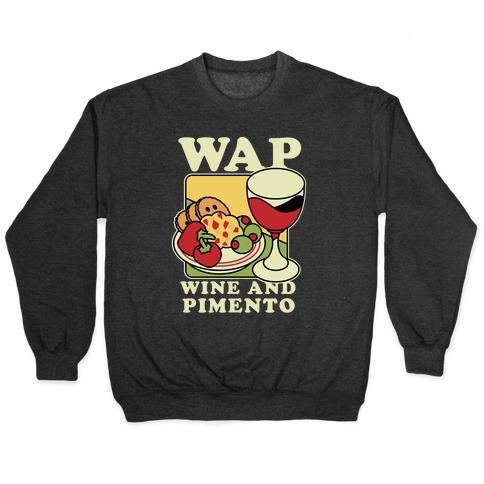 WAP (Wine And Pimento) Pullover