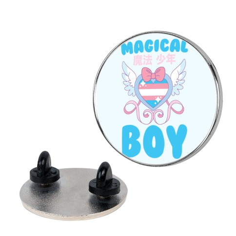 Magical Boy - Trans Pride Pin