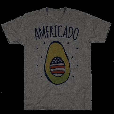 Americado Parody Mens T-Shirt