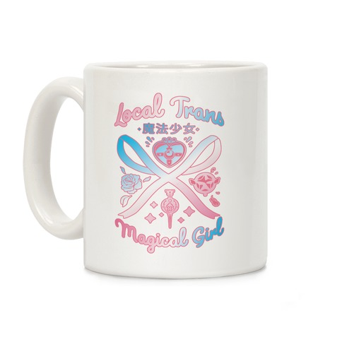 Local Trans Magical Girl Coffee Mug