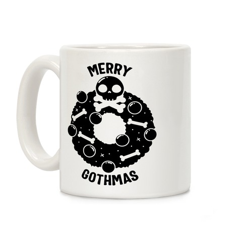Merry Gothmas Coffee Mug