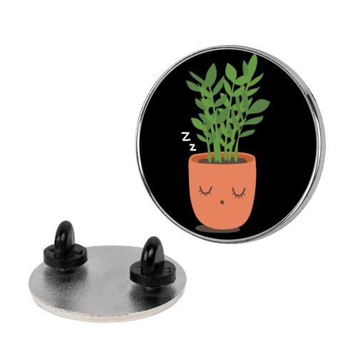 Sleepy ZZ Plant Pin