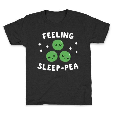 Feeling Sleep-pea Kids T-Shirt