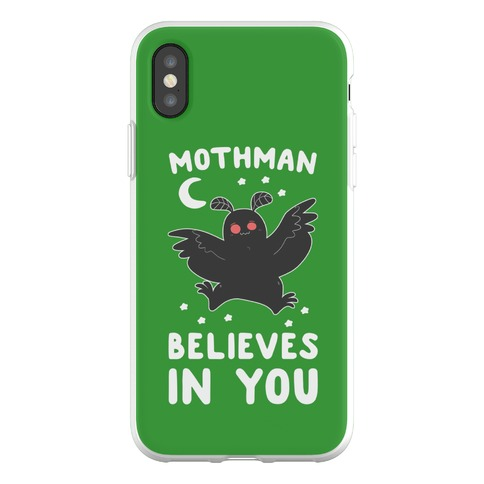 Mothman Believes in You Phone Flexi-Case