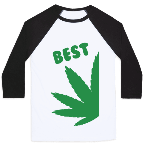 Best Buds Couples (Best) Baseball Tee