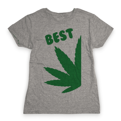 Best Buds Couples (Best) Womens T-Shirt