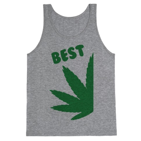 Best Buds Couples (Best) Tank Top