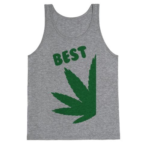 Best Buds Couples (Best) Tank Top