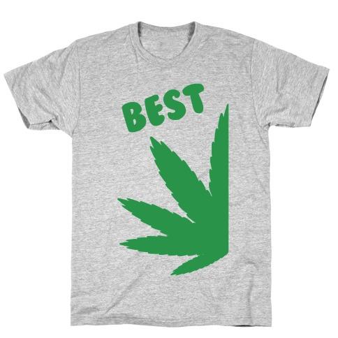 Best Buds Couples (Best) T-Shirt
