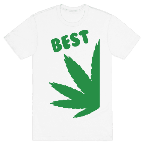 Best Buds Couples (Best) Mens T-Shirt
