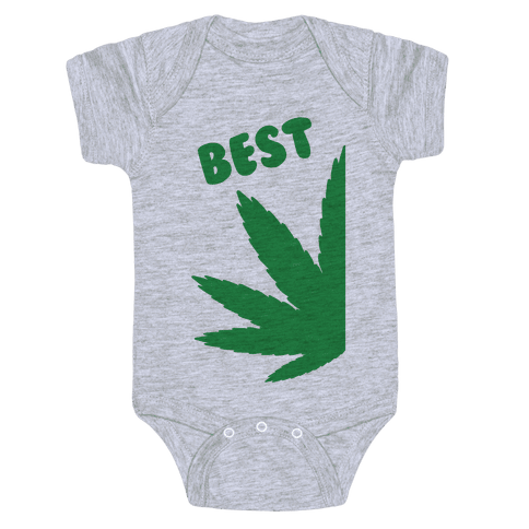 Best Buds Couples (Best) Baby Onesy