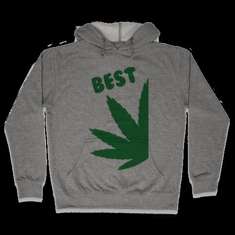 Best Buds Couples (Best) Hooded Sweatshirt
