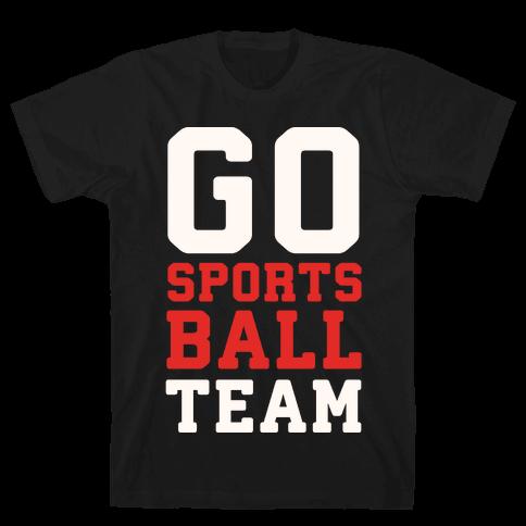 Go Sports Ball Mens T-Shirt