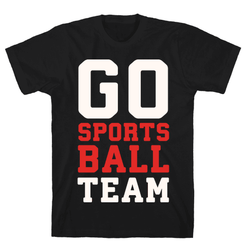 Go Sports Ball Mens T-Shirt