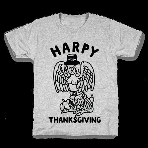 Harpy Thanksgiving Kids T-Shirt