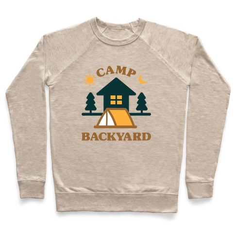 Camp Backyard Pullover