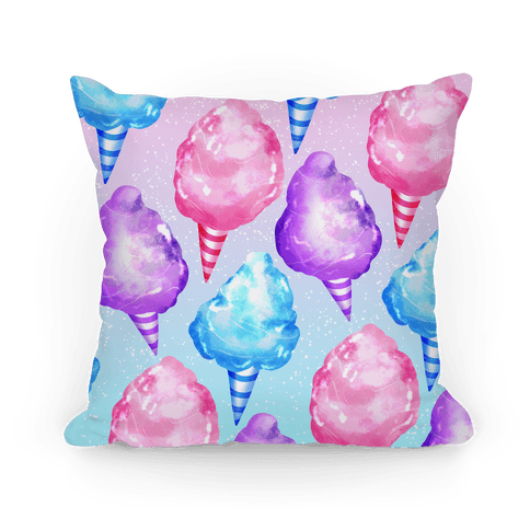 Cotton Candy Pattern Pillow