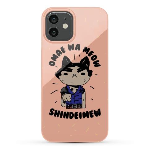 Omae Wa Meow Shindeimew Phone Case