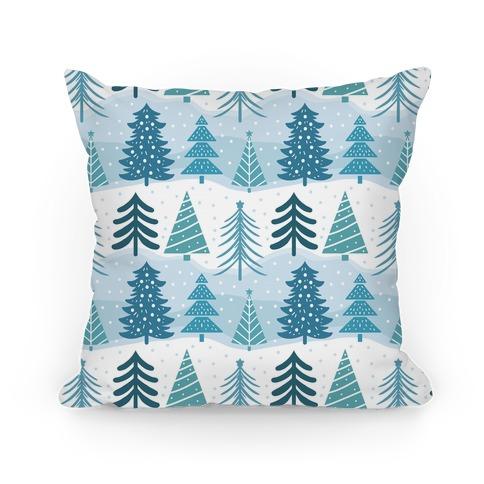 Christmas Tree Pattern Pillow