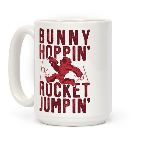Bunny Hoppin' & Rocket Jumpin' Coffee Mug