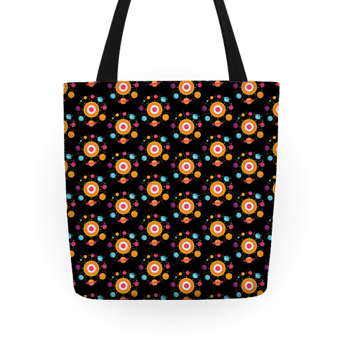 Solar System Pattern Tote