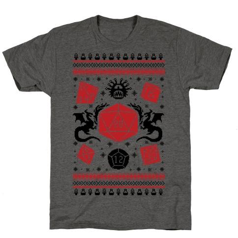 D&D Ugly Sweater T-Shirt
