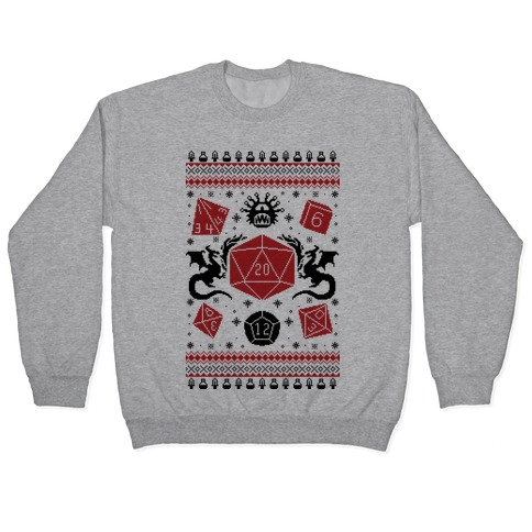 D&D Ugly Sweater Pullover