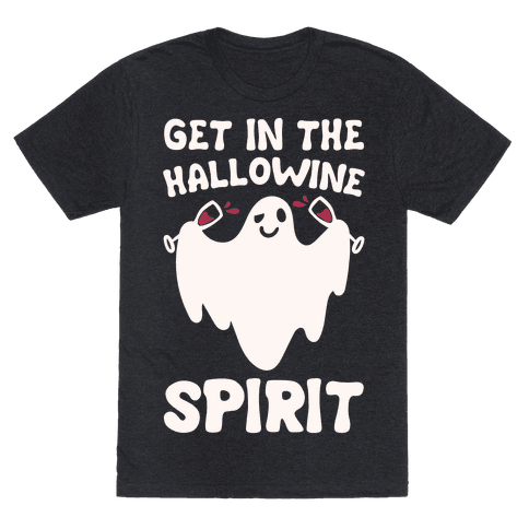 Get in The Hallowine Spirit White Print
