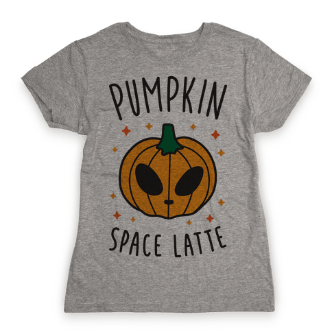 Pumpkin Space Latte Womens T-Shirt