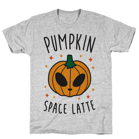 Pumpkin Space Latte Mens T-Shirt