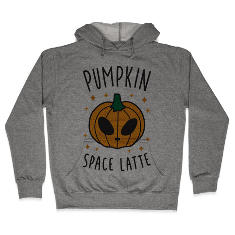 Pumpkin Space Latte Hooded Sweatshirt