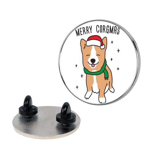 Merry Corgmas pin