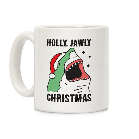 Holly, Jawly Christmas Coffee Mug