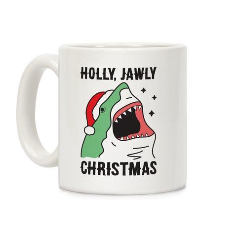 Holly, Jawly Christmas Coffee Mug
