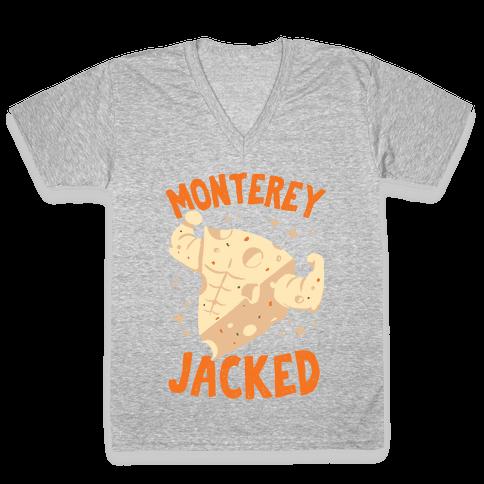 Monterey Jacked V-Neck Tee Shirt