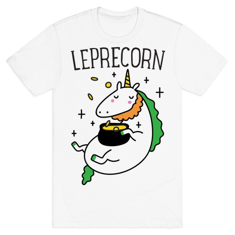 Leprecorn Unicorn T-Shirt