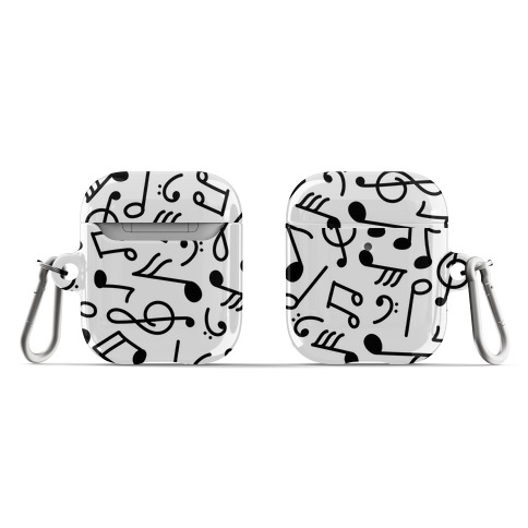Musical Note Pattern AirPod Case