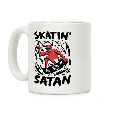 Skatin' Satan Coffee Mug
