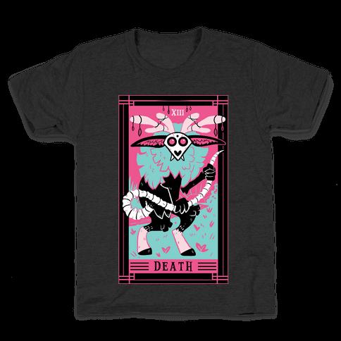 Creepy Cute Tarots: Death Kids T-Shirt
